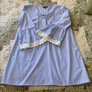 super cute Blue and White stripped dress!